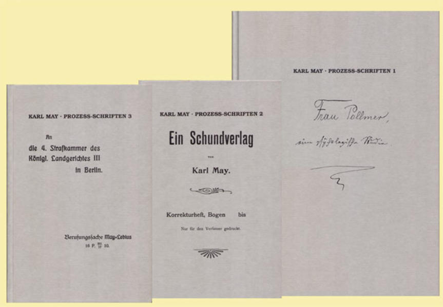 Karl Mays Prozess-Schriften - Coverbild