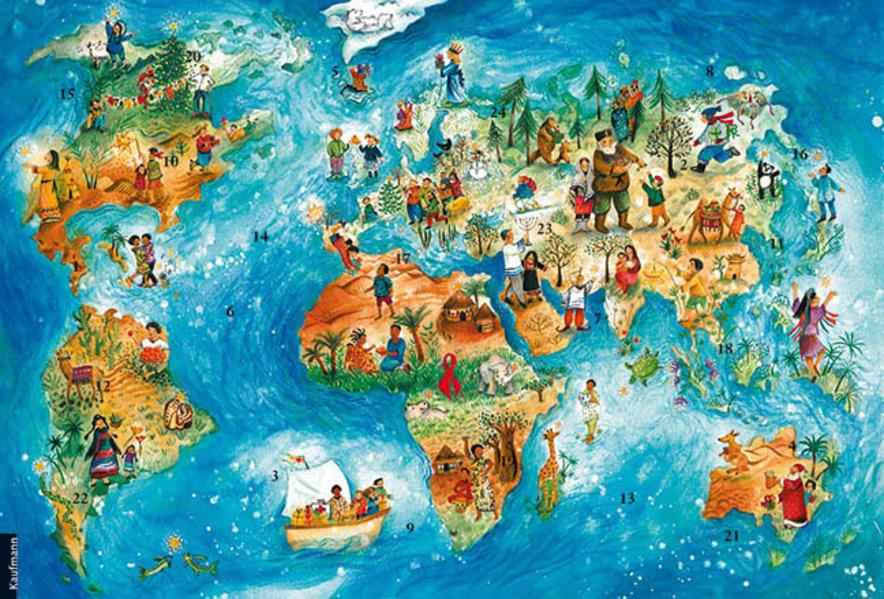 Weihnachtsfreude überall - Coverbild
