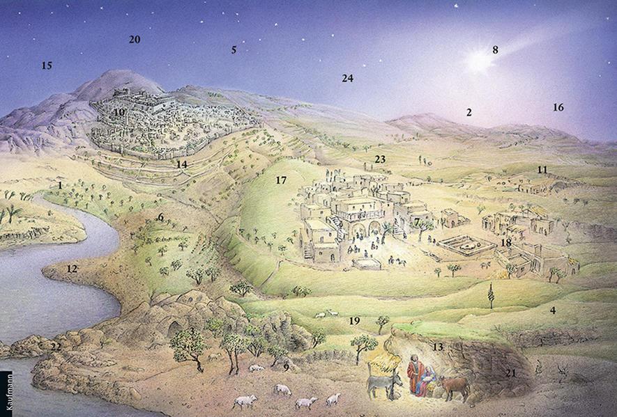 Zu Betlehem geboren - Coverbild