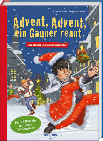 Advent, Advent, ein Gauner rennt - Coverbild