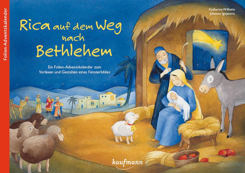 Rica auf dem Weg nach Bethlehem - Coverbild