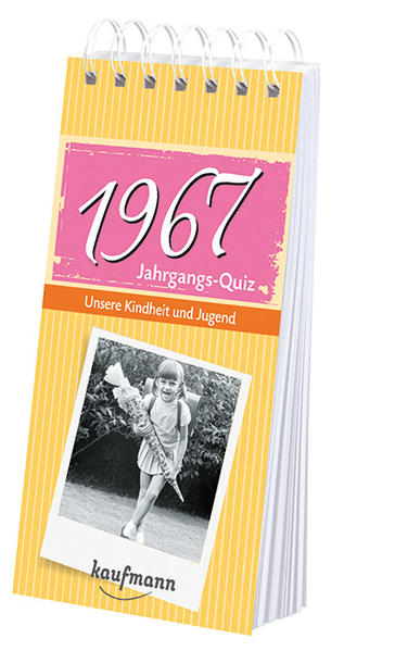 Jahrgangs Quiz 1967 - Coverbild