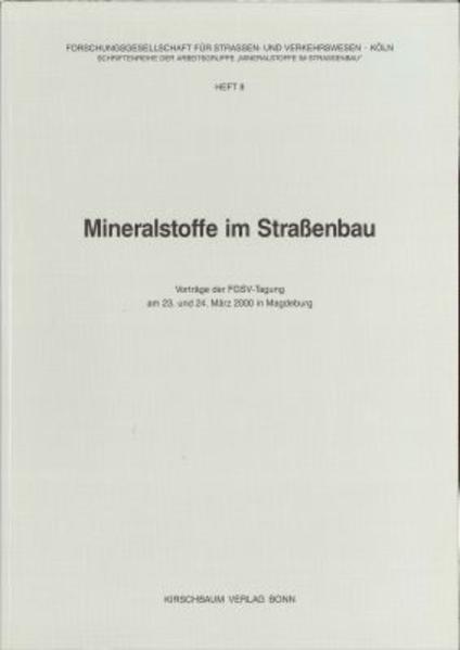 Mineralstoffe im Strassenbau - Coverbild