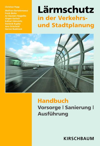 Lärmschutz in der Verkehrs- und Stadtplanung - Coverbild
