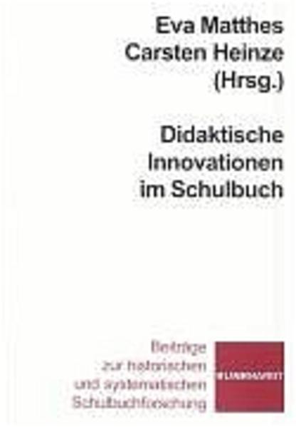 Didaktische Innovationen im Schulbuch - Coverbild