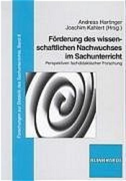 Förderung des wissenschaftlichen Nachwuchses im Sachunterricht - Coverbild