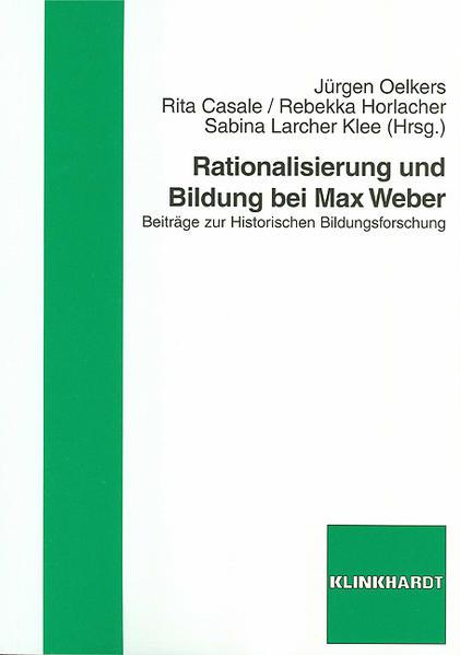 Rationalisierung und Bildung bei Max Weber - Coverbild