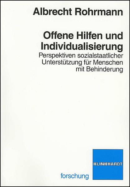 Offene Hilfen und Individualisierung - Coverbild