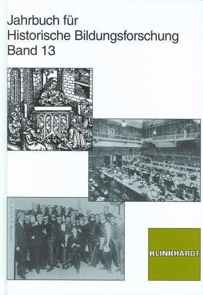 Jahrbuch für Historische Bildungsforschung - Coverbild