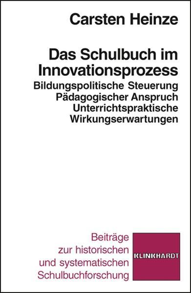 Das Schulbuch im Innovationsprozess - Coverbild