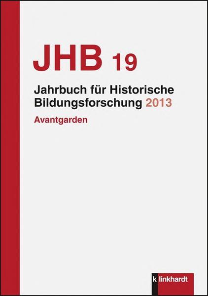 Jahrbuch für Historische Bildungsforschung, Band 19 - Coverbild