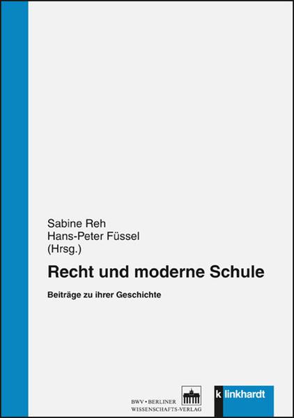Recht und moderne Schule - Coverbild