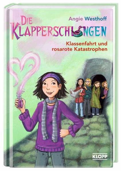 Die Klapperschlangen - Klassenfahrt und rosarote Katastrophen - Coverbild