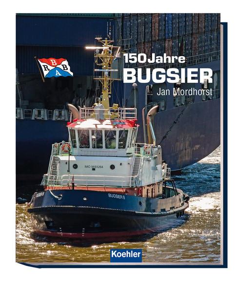 150 Jahre Bugsier - Coverbild