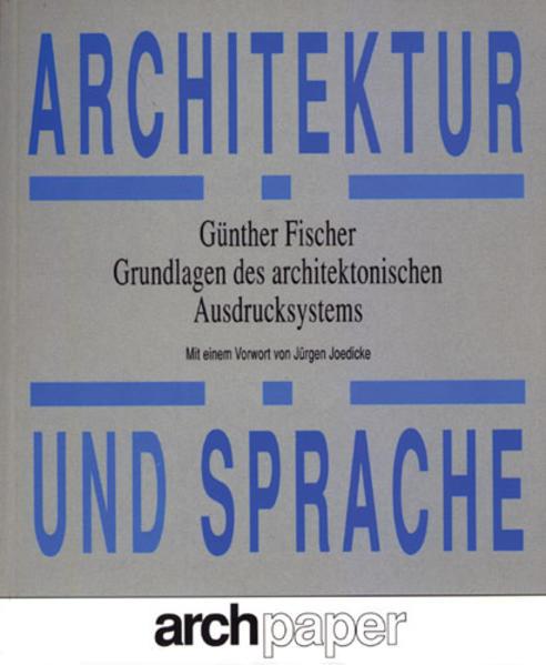 Architektur und Sprache - Coverbild