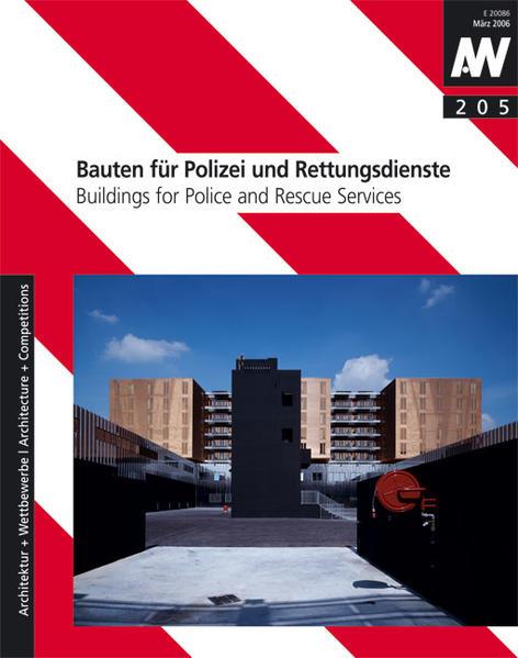 Bauten für Polizei und Rettungsdienste - Coverbild