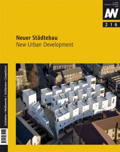 Neuer Städtebau  - Coverbild