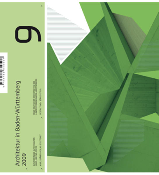 Architektur in Baden-Württemberg 2009 - Coverbild