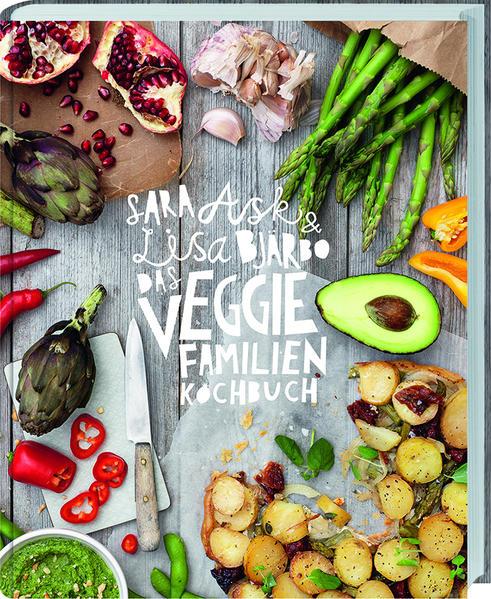 Das Veggie-Familienkochbuch - Coverbild