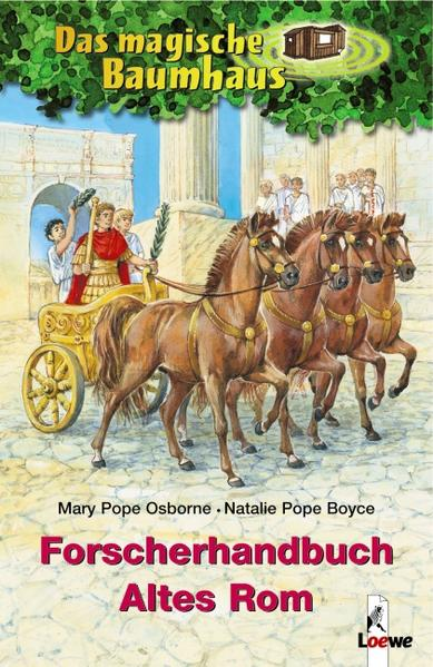 Das magische Baumhaus - Forscherhandbuch Altes Rom - Coverbild