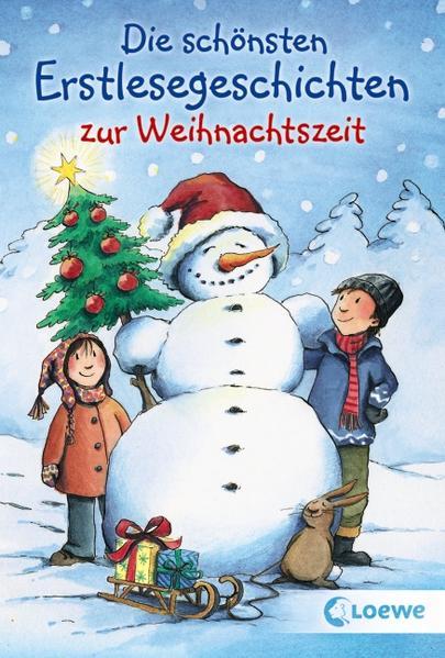Die schönsten Erstlesegeschichten zur Weihnachtszeit - Coverbild