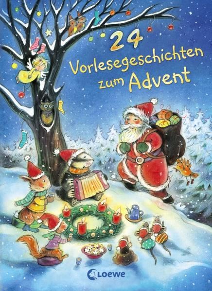 24 Vorlesegeschichten zum Advent - Coverbild
