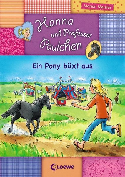 Hanna und Prof. Paulchen - Ein Pony büxt aus - Coverbild