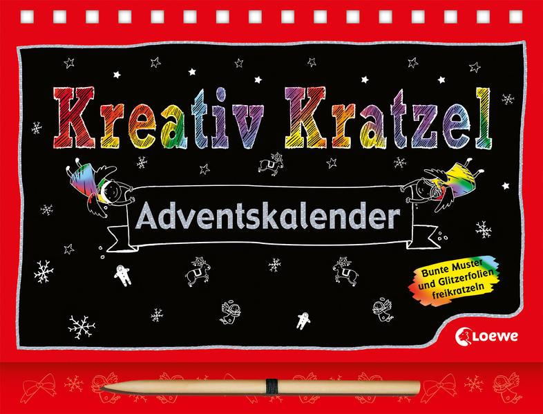 Kreativ-Kratzel-Adventskalender - Coverbild