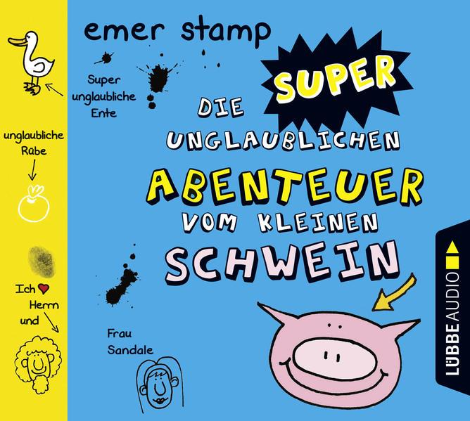 Die super unglaublichen Abenteuer vom kleinen Schwein - Coverbild