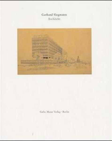 Gerhard Siegmann 1911-1989 - Coverbild