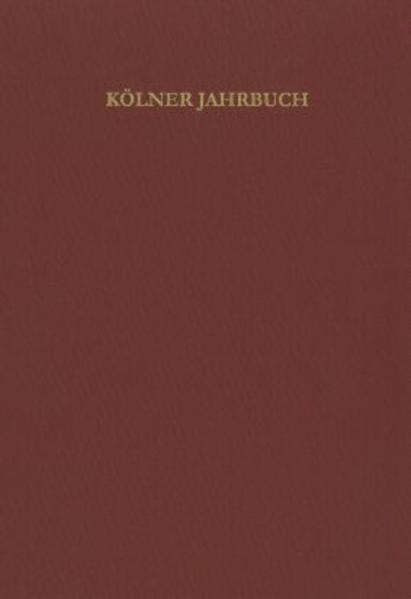 Kölner Jahrbuch für Vor- und Frühgeschichte - Coverbild