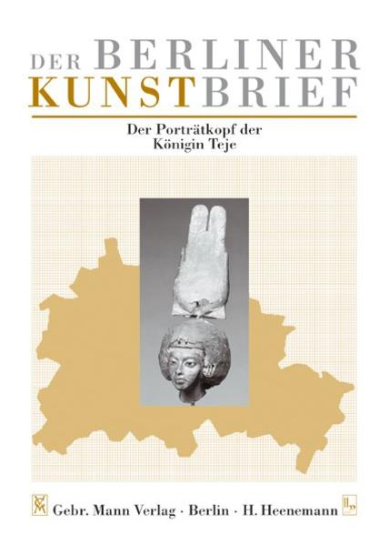 Der Porträtkopf der Königin Teje - Coverbild