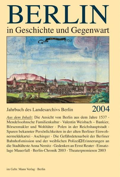 Berlin in Geschichte und Gegenwart - Coverbild