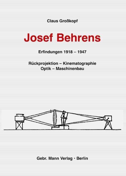 Josef Behrens. Erfindungen 1918-1947 - Coverbild