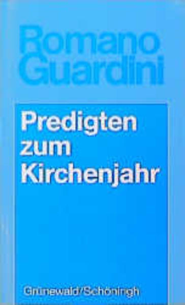 Werke / Predigten zum Kirchenjahr - Coverbild