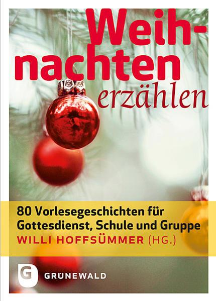 Weihnachten erzählen - Coverbild