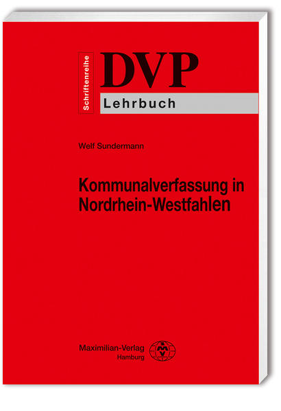 Kommunalverfassung in Nordrhein-Westfalen - Coverbild
