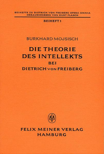 Die Theorie des Intellekts bei Dietrich von Freiberg - Coverbild