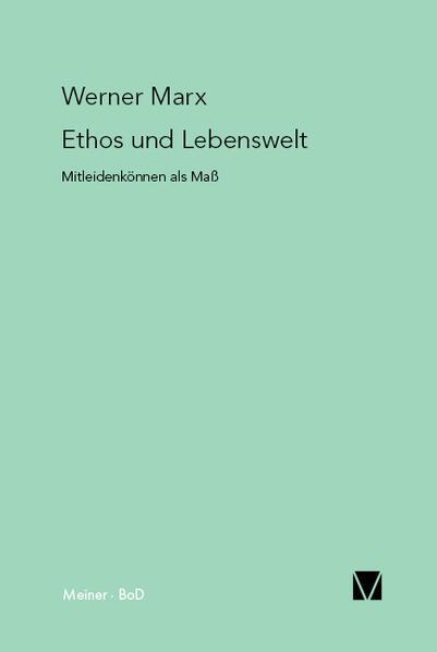 Ethos und Lebenswelt - Coverbild