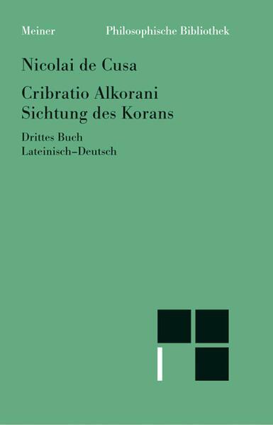 Schriften in deutscher Übersetzung / Sichtung des Korans III - Coverbild