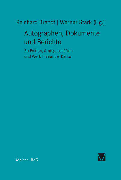 Autographen, Dokumente und Berichte - Coverbild