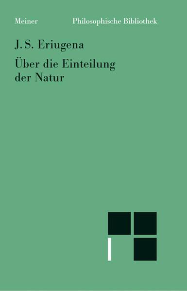 Über die Einteilung der Natur - Coverbild