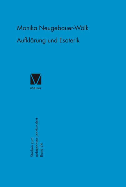 Aufklärung und Esoterik - Coverbild