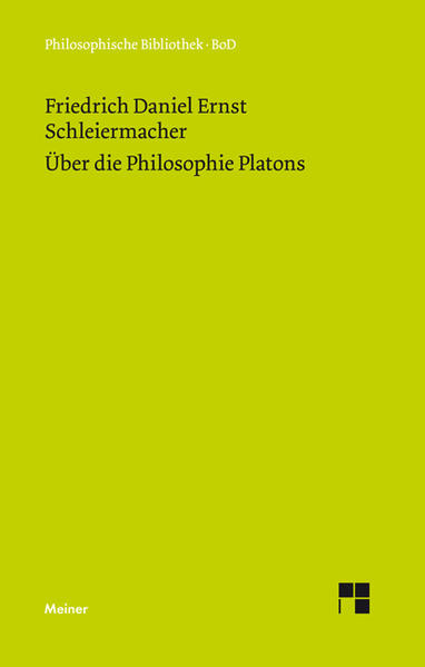 Über die Philosophie Platons - Coverbild