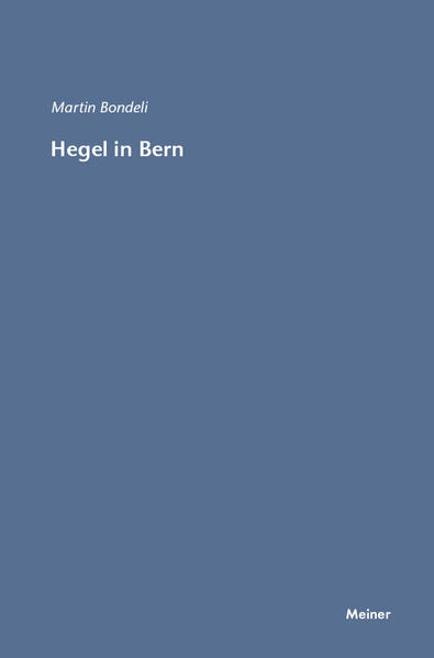 Hegel in Bern - Coverbild