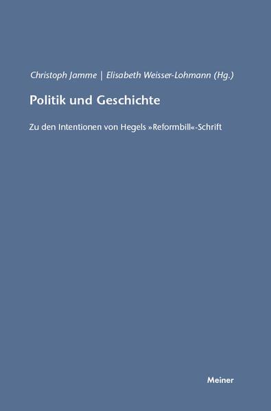 Politik und Geschichte - Coverbild