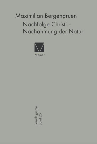 Nachfolge Christi - Nachahmung der Natur - Coverbild