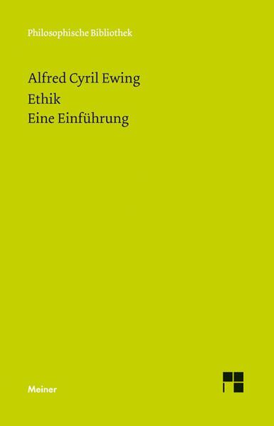 Ethik. Eine Einführung - Coverbild
