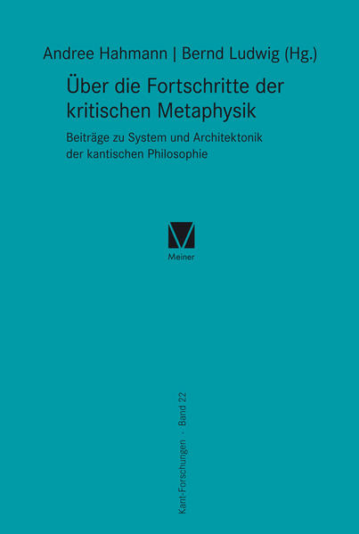 Über die Fortschritte der kritischen Metaphysik - Coverbild