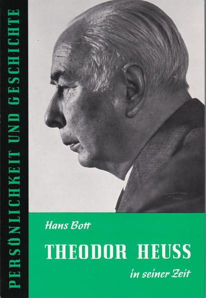 Theodor Heuss - Coverbild